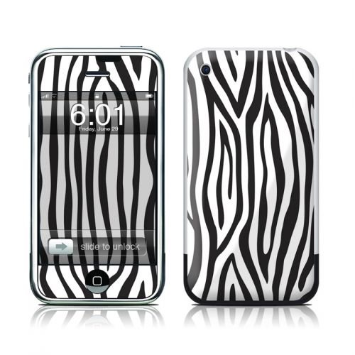 Zebra Stripes iPhone 1st Gen Skin
