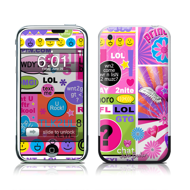 BFF Girl Talk iPhone 1st Gen Skin