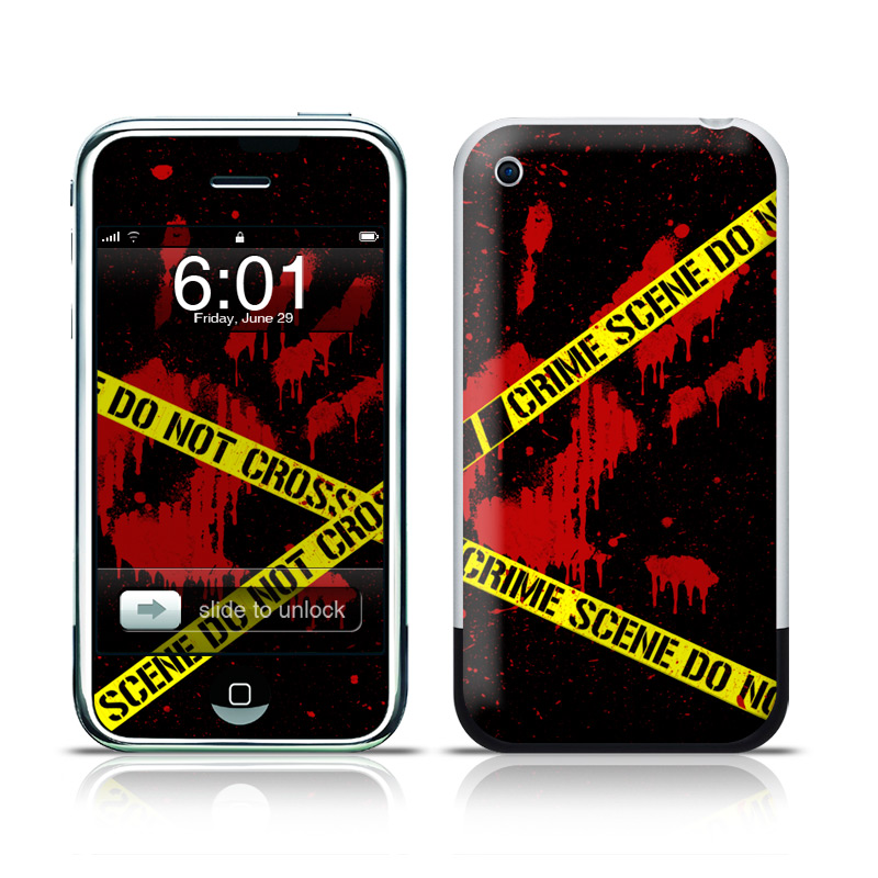 Crime Scene iPhone 1st Gen Skin
