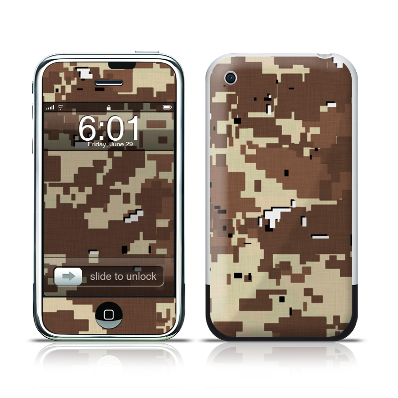 Digital Desert Camo iPhone 1st Gen Skin