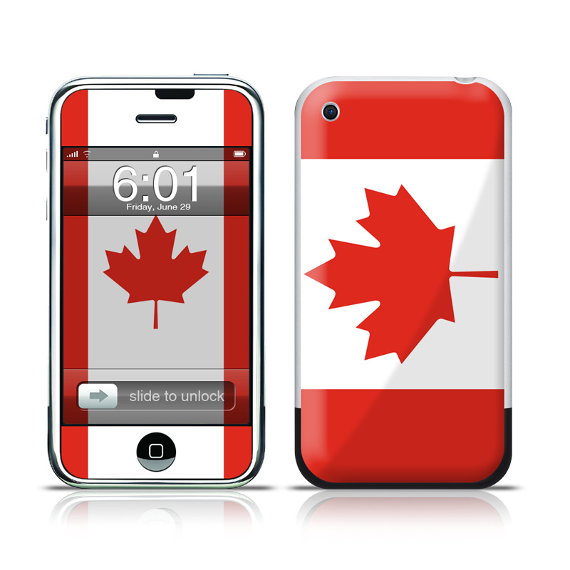 Canadian Flag iPhone 1st Gen Skin