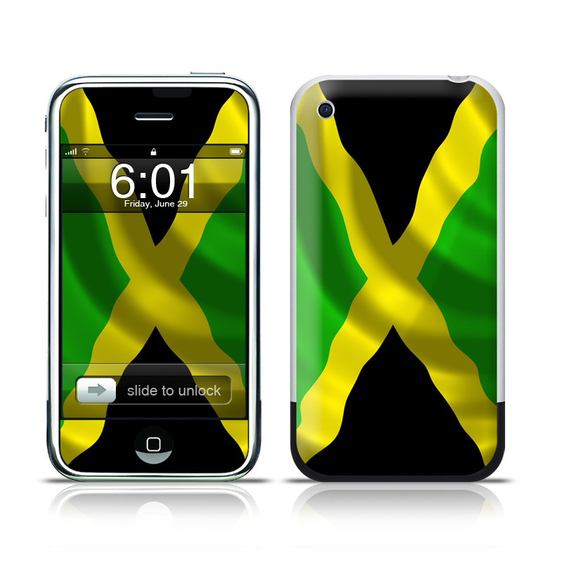 Jamaican Flag iPhone 1st Gen Skin