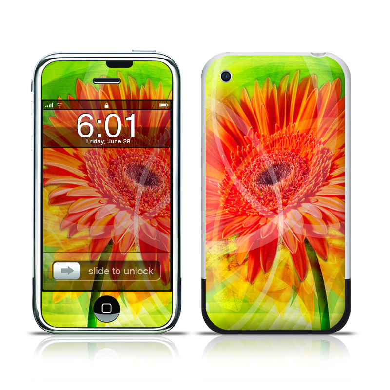 Gerbera iPhone 1st Gen Skin
