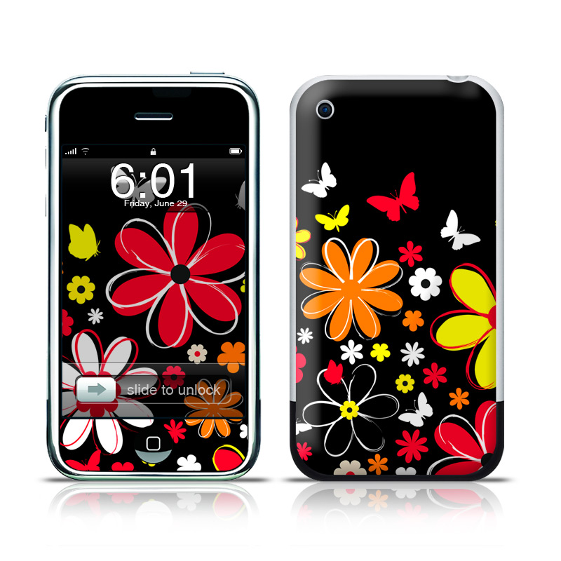 Laurie's Garden iPhone 1st Gen Skin