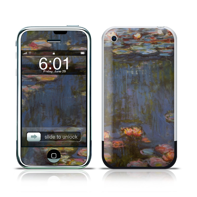 Monet - Waterlilies iPhone 1st Gen Skin