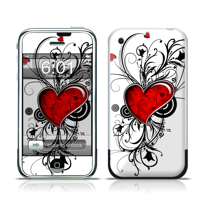 My Heart iPhone 1st Gen Skin