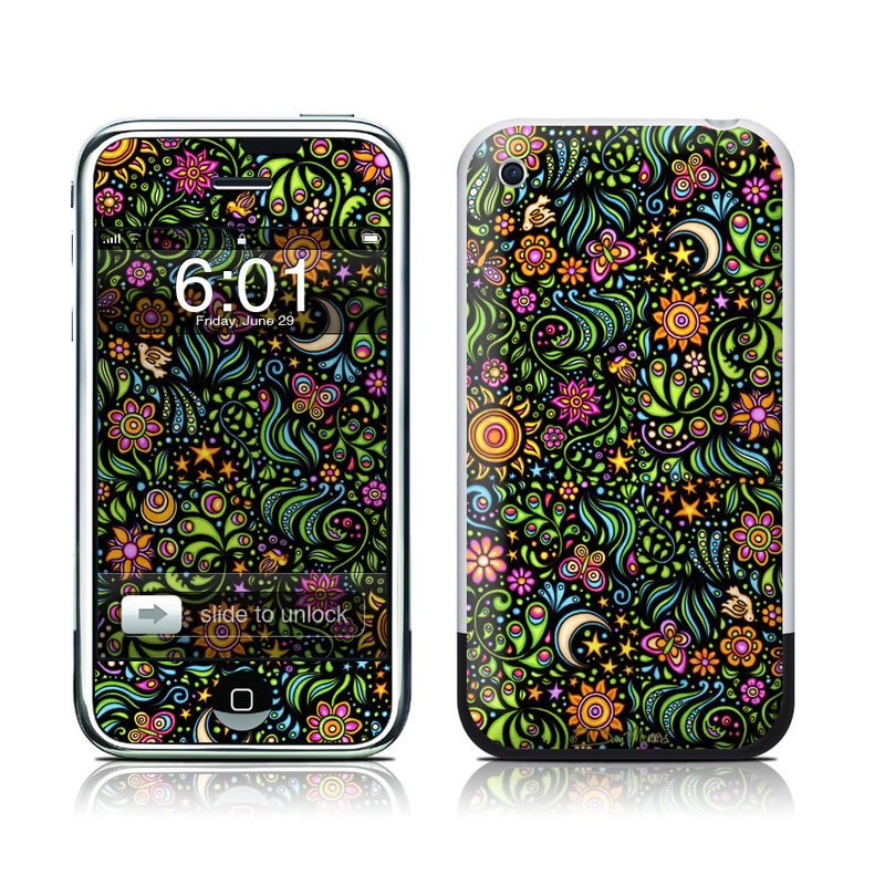 Nature Ditzy iPhone 1st Gen Skin