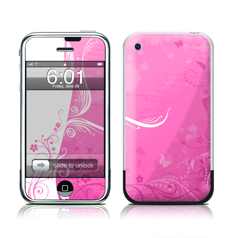 Pink Crush iPhone 1st Gen Skin
