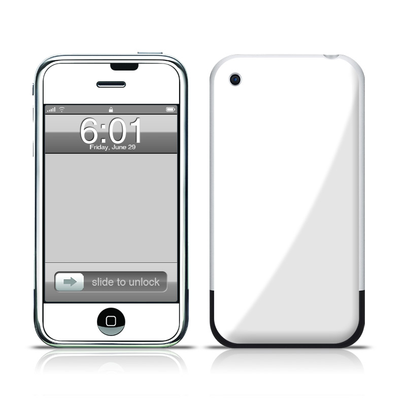 1st generation iphone solid state white iphone 1st skin istyles 1423