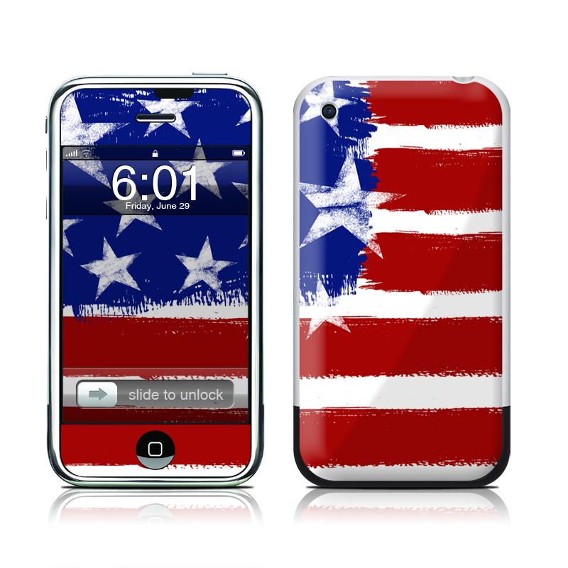 Stars + Stripes iPhone 1st Gen Skin