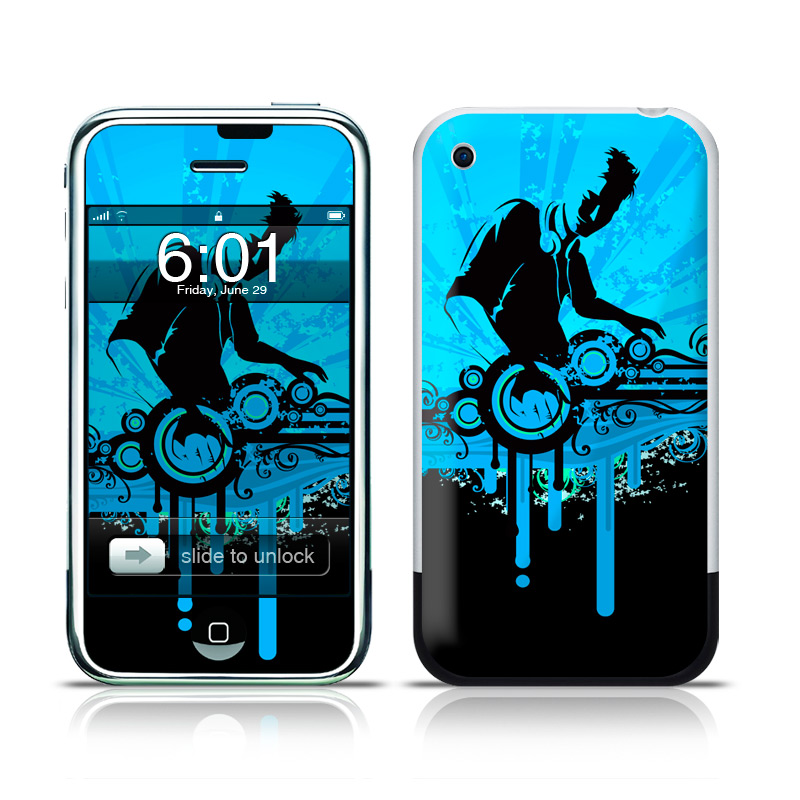 1st generation iphone the dj iphone 1st skin istyles 1423