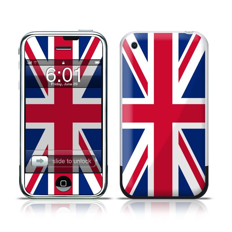 Union Jack iPhone 1st Gen Skin
