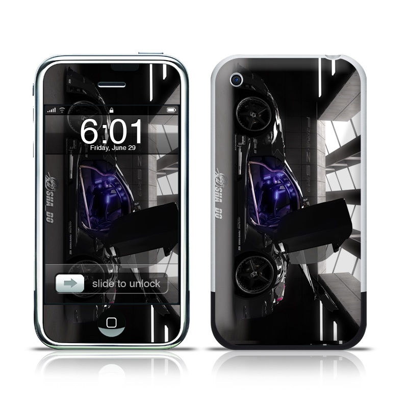 Z33 Dark iPhone 1st Gen Skin