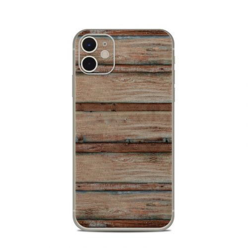 Boardwalk Wood iPhone 11 Skin