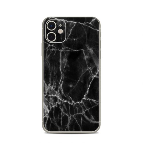 Black Marble iPhone 11 Skin