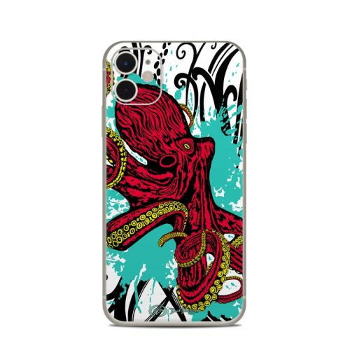 Octopus iPhone 11 Skin