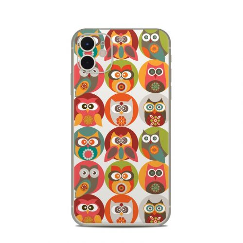 Owls Family iPhone 11 Skin