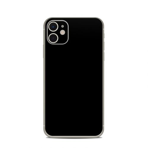 Solid State Black iPhone 11 Skin