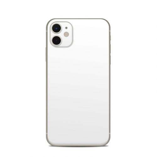 Solid State White iPhone 11 Skin