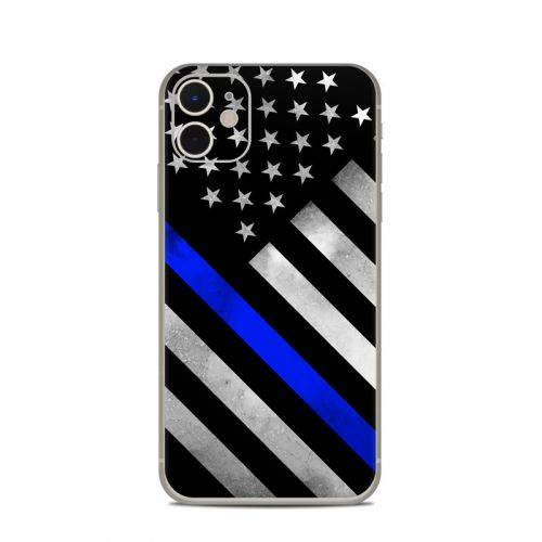 Thin Blue Line Hero iPhone 11 Skin