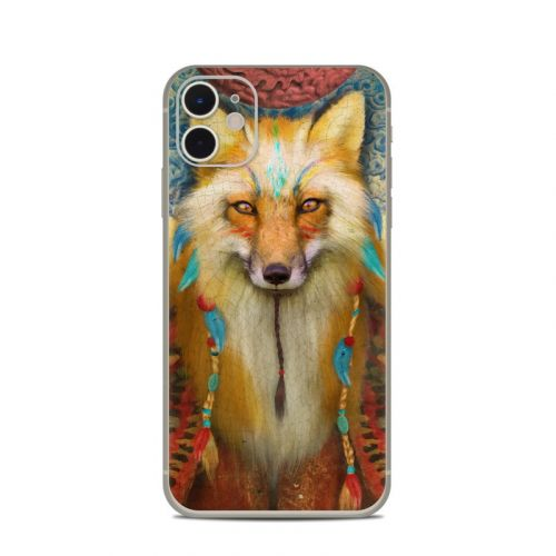 Wise Fox iPhone 11 Skin