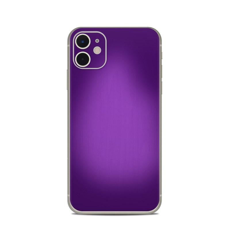 Purple Burst Iphone 11 Skin