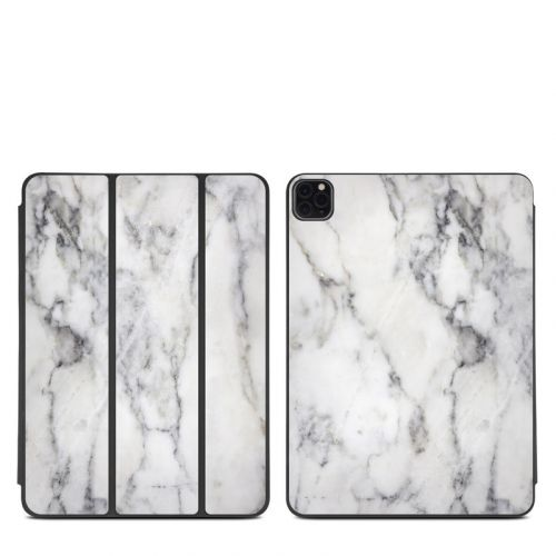 White Marble iPad Pro 11-inch Smart Folio Skin