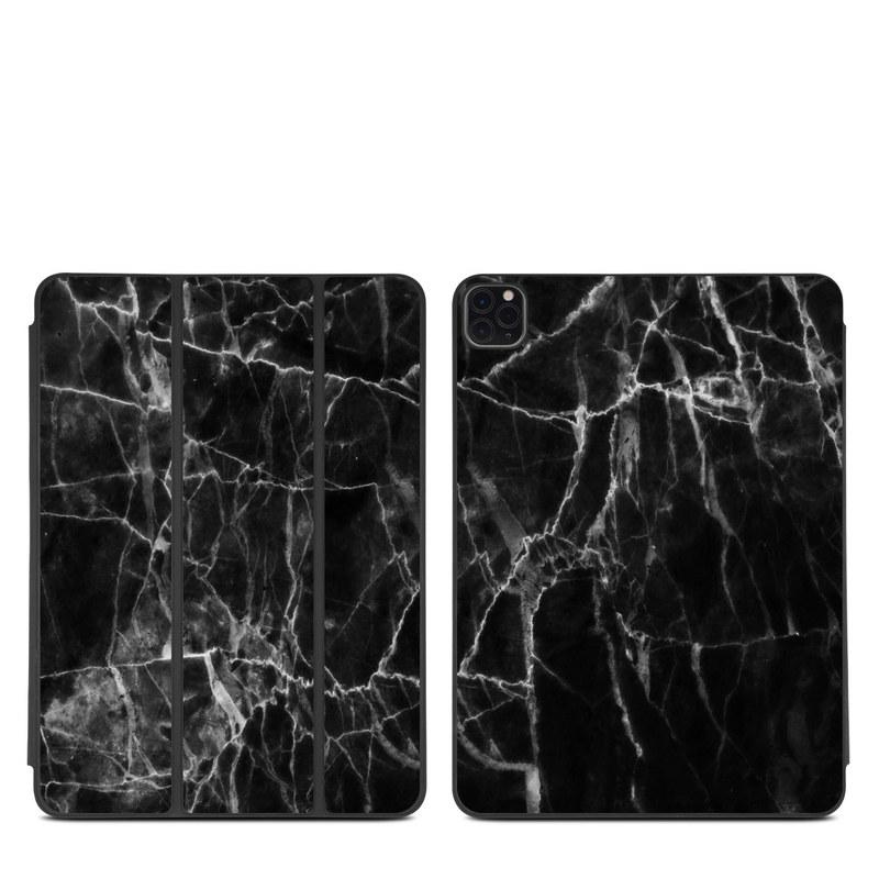 iPad Pro 11-inch Smart Folio Skin design of Black, White, Nature, Black-and-white, Monochrome photography, Branch, Atmosphere, Atmospheric phenomenon, Tree, Sky with black, white colors