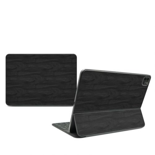 Black Woodgrain iPad Pro 11-inch Smart Keyboard Folio Skin