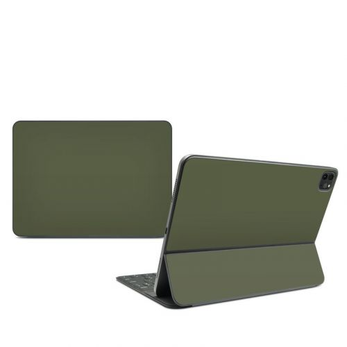 Solid State Olive Drab iPad Pro 11-inch Smart Keyboard Folio Skin