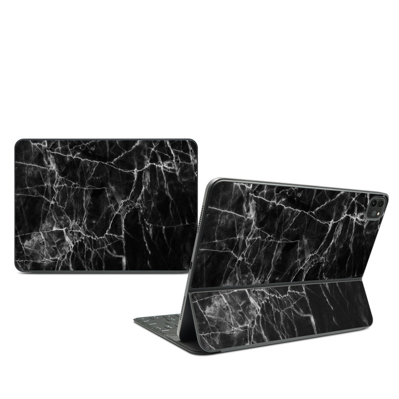 iPad Pro 11-inch Smart Keyboard Folio Skin design of Black, White, Nature, Black-and-white, Monochrome photography, Branch, Atmosphere, Atmospheric phenomenon, Tree, Sky with black, white colors