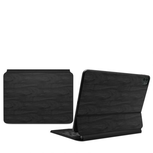 Black Woodgrain iPad Pro 11-inch Magic Keyboard Skin
