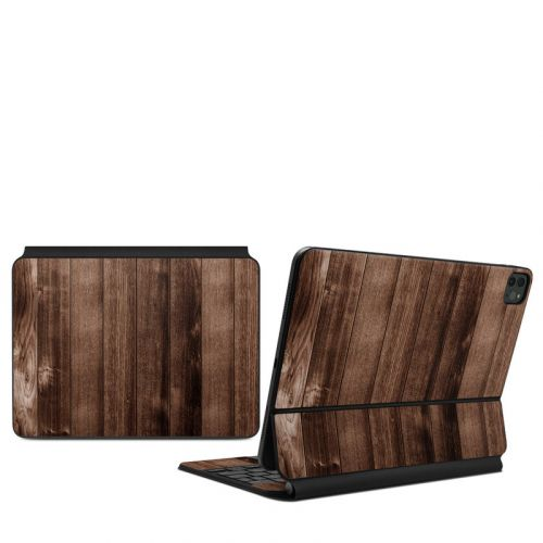 Stained Wood iPad Pro 11-inch Magic Keyboard Skin