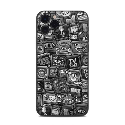 Distraction Tactic B&W iPhone 11 Pro Skin
