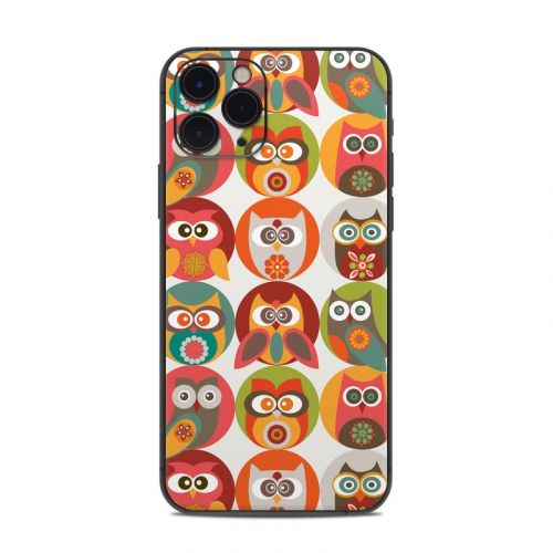 Owls Family iPhone 11 Pro Skin
