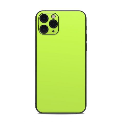 Solid State Lime iPhone 11 Pro Skin