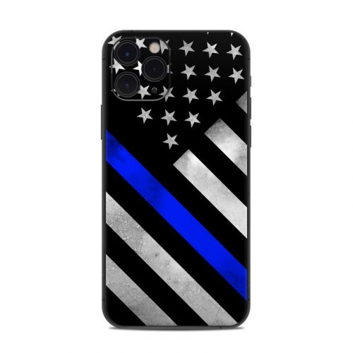 Thin Blue Line Hero iPhone 11 Pro Skin