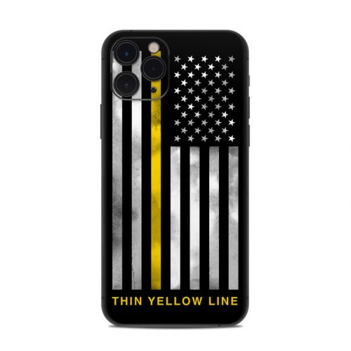 Thin Yellow Line iPhone 11 Pro Skin