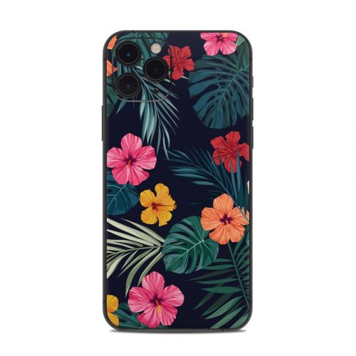Tropical Hibiscus iPhone 11 Pro Skin