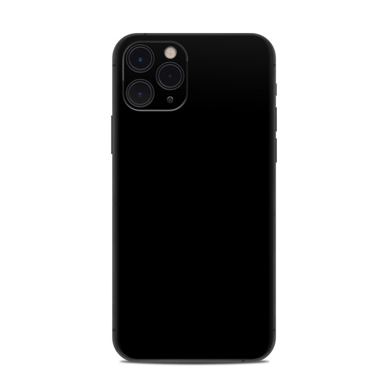 Solid State Black iPhone 11 Pro Skin