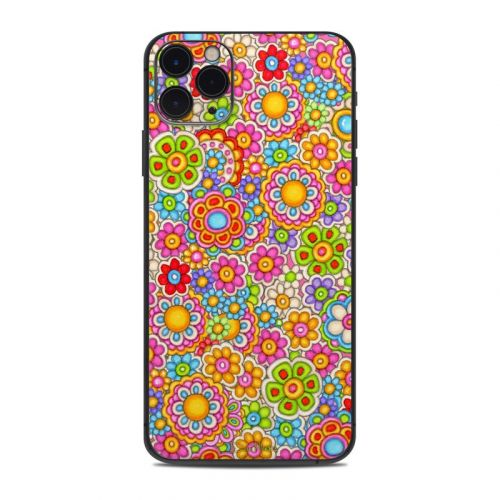 Bright Ditzy iPhone 11 Pro Max Skin
