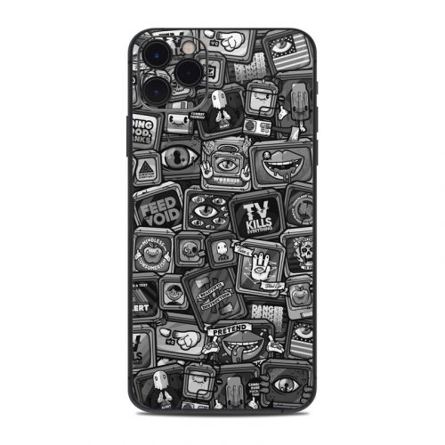 Distraction Tactic B&W iPhone 11 Pro Max Skin