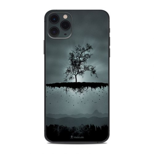 Flying Tree Black iPhone 11 Pro Max Skin
