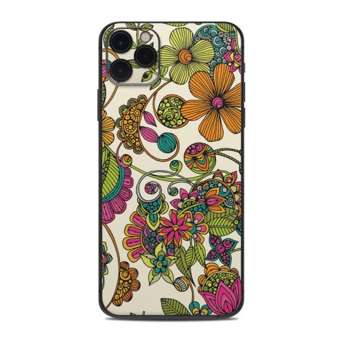 Maia Flowers iPhone 11 Pro Max Skin