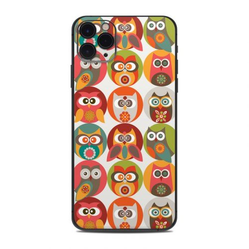 Owls Family iPhone 11 Pro Max Skin