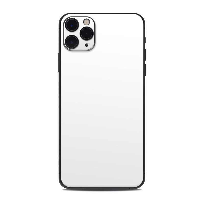 iPhone 11 Pro Max Skin design of White, Black, Line with white colors