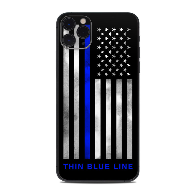 iPhone 11 Pro Max Skin design of Line, Flag, Text, Flag of the united states, Font, Parallel, Symmetry, Black-and-white, Pattern, Graphics with black, white, gray, blue colors