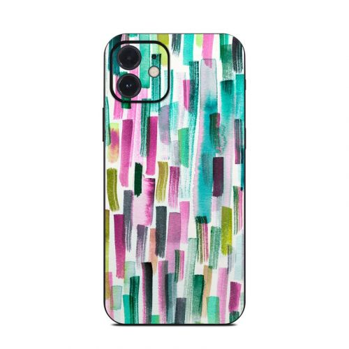 Colorful Brushstrokes iPhone 12 Skin
