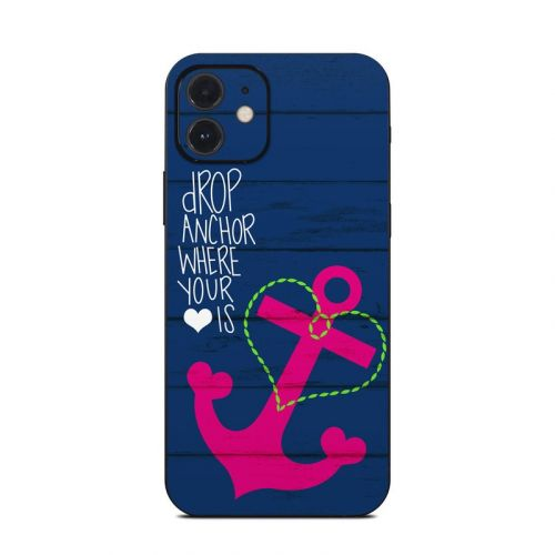 Drop Anchor iPhone 12 Skin