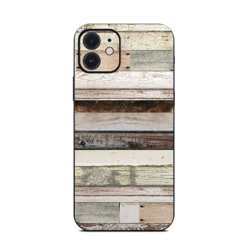 Eclectic Wood iPhone 12 Skin